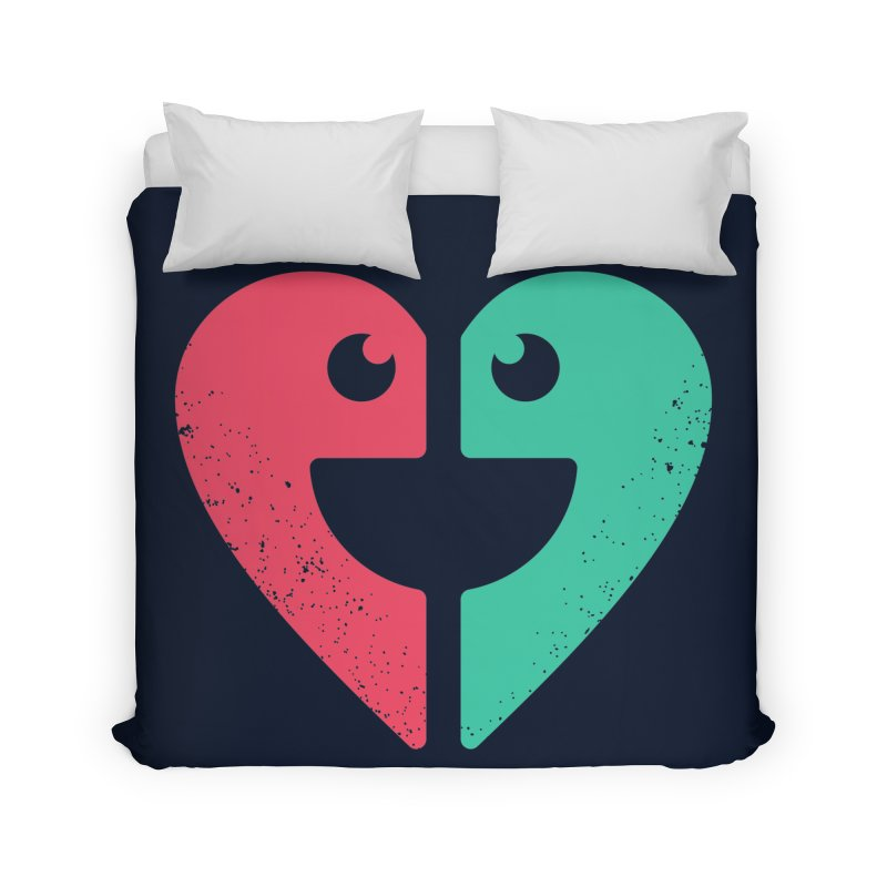 LOVE QUOTES Home Duvet by EHELPENT