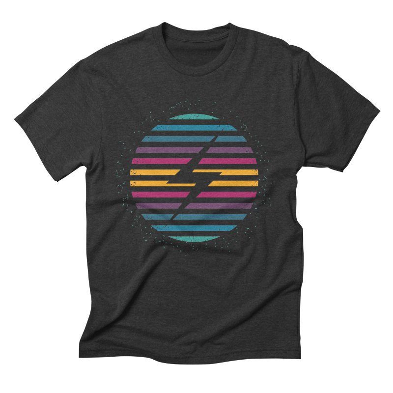 FLASH AND PANACHE in Men's Triblend T-Shirt Heather Onyx by EHELPENT