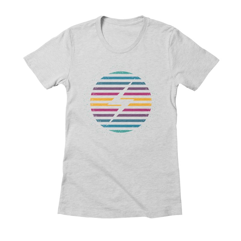 FLASH AND PANACHE Women's Fitted T-Shirt by EHELPENT
