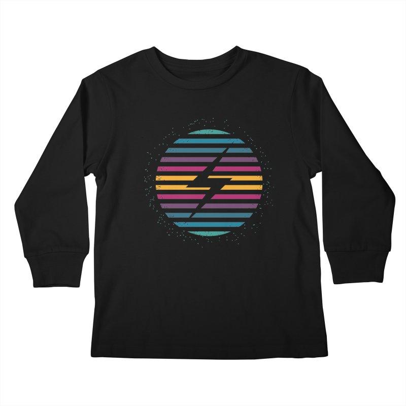 FLASH AND PANACHE Kids Longsleeve T-Shirt by EHELPENT
