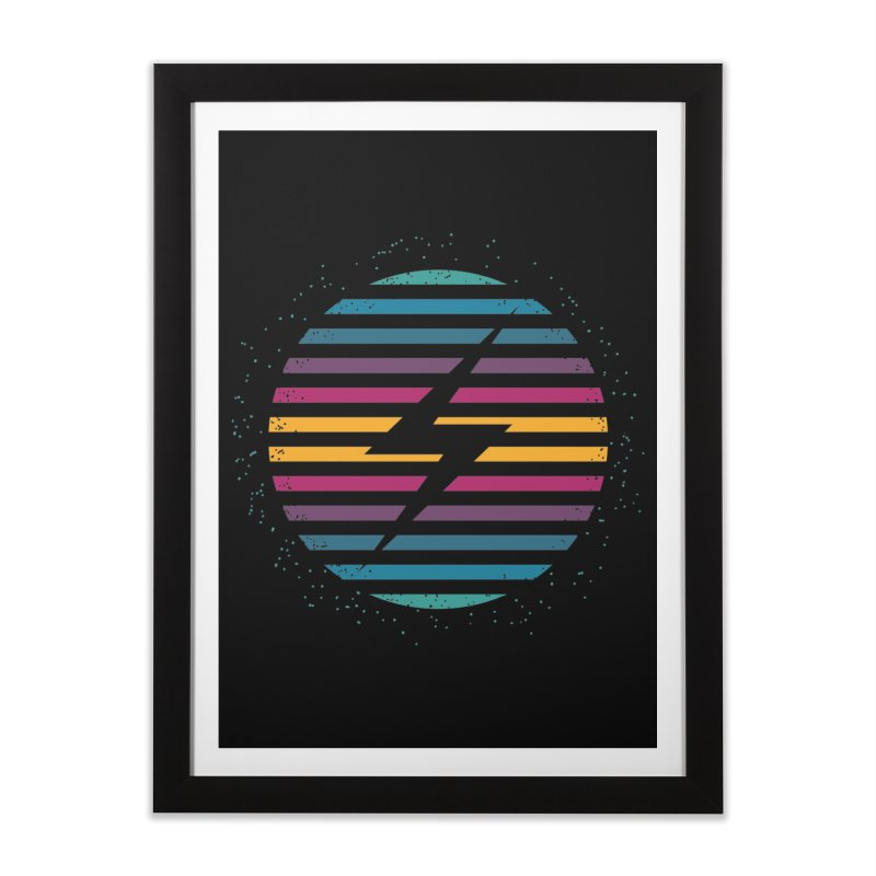 FLASH AND PANACHE Home Framed Fine Art Print by EHELPENT