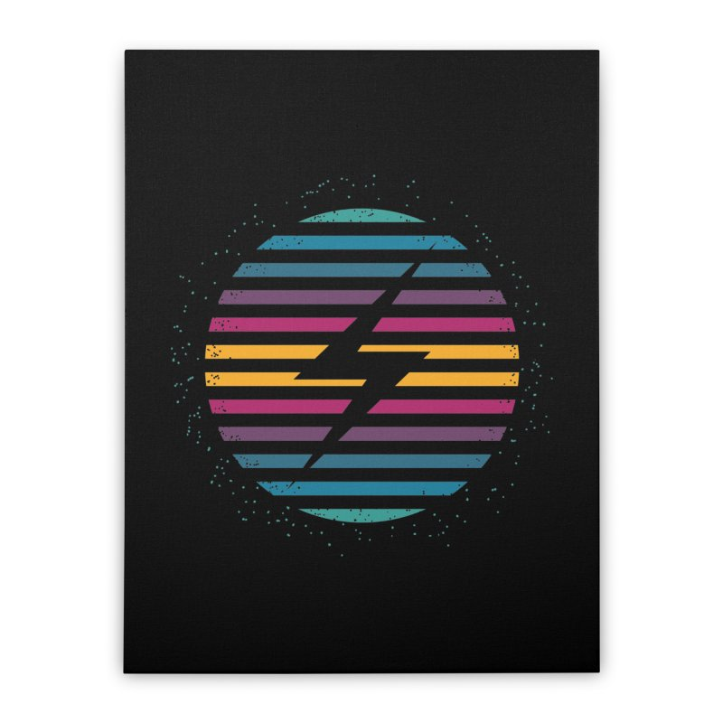 FLASH AND PANACHE Home Stretched Canvas by EHELPENT