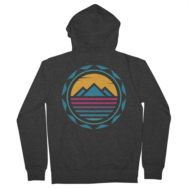 TRAPPED IN MEMORY Men's Zip-Up Hoody by EHELPENT
