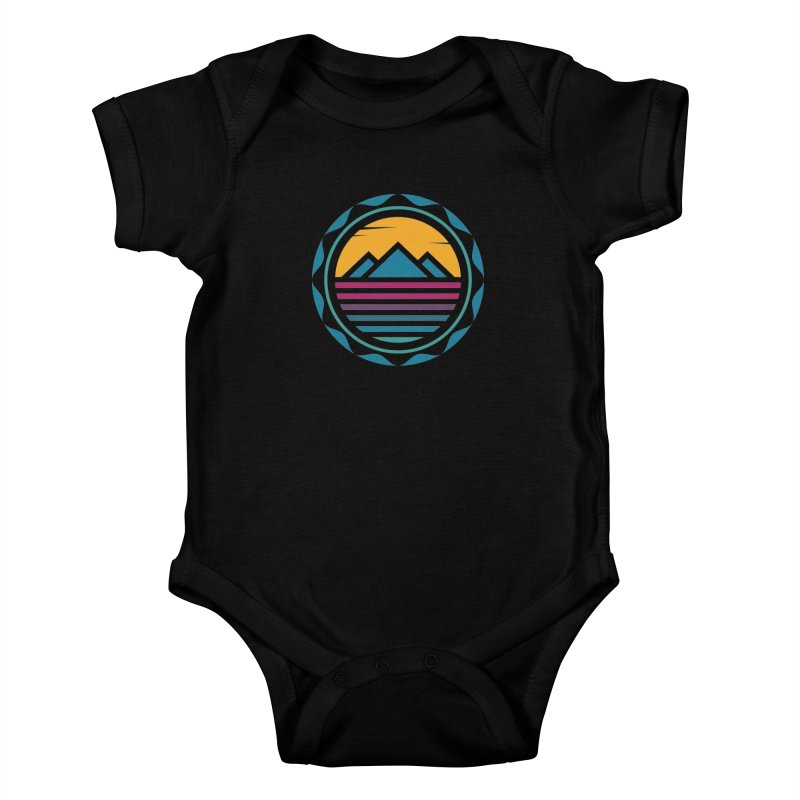 TRAPPED IN MEMORY Kids Baby Bodysuit by EHELPENT