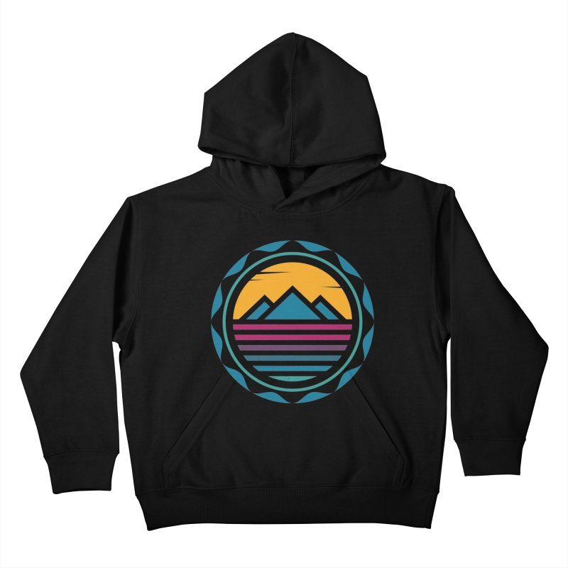 TRAPPED IN MEMORY Kids Pullover Hoody by EHELPENT