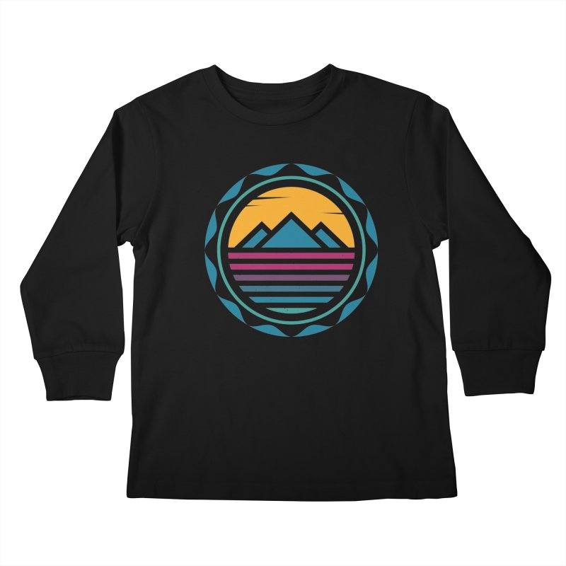 TRAPPED IN MEMORY Kids Longsleeve T-Shirt by EHELPENT