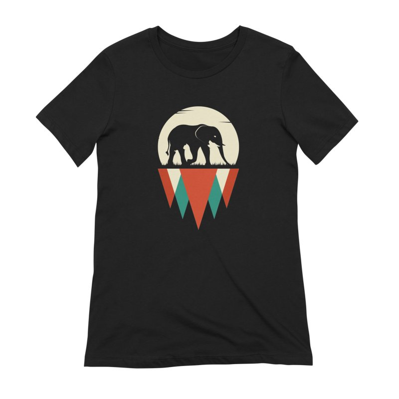 HIDDEN WILD SIDE Women's T-Shirt by EHELPENT