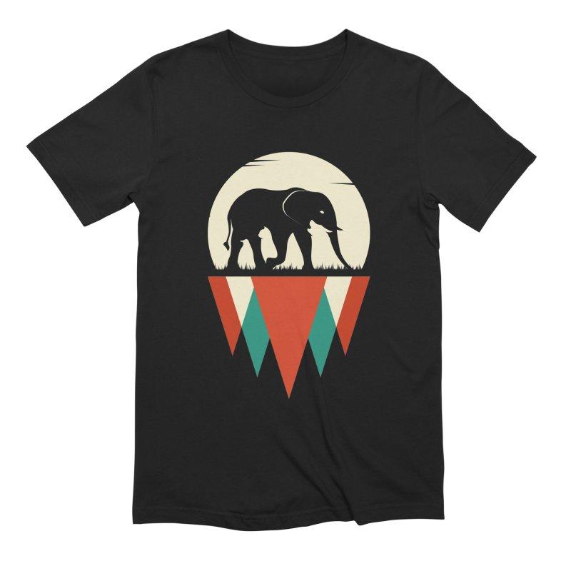 HIDDEN WILD SIDE Men's Extra Soft T-Shirt by EHELPENT