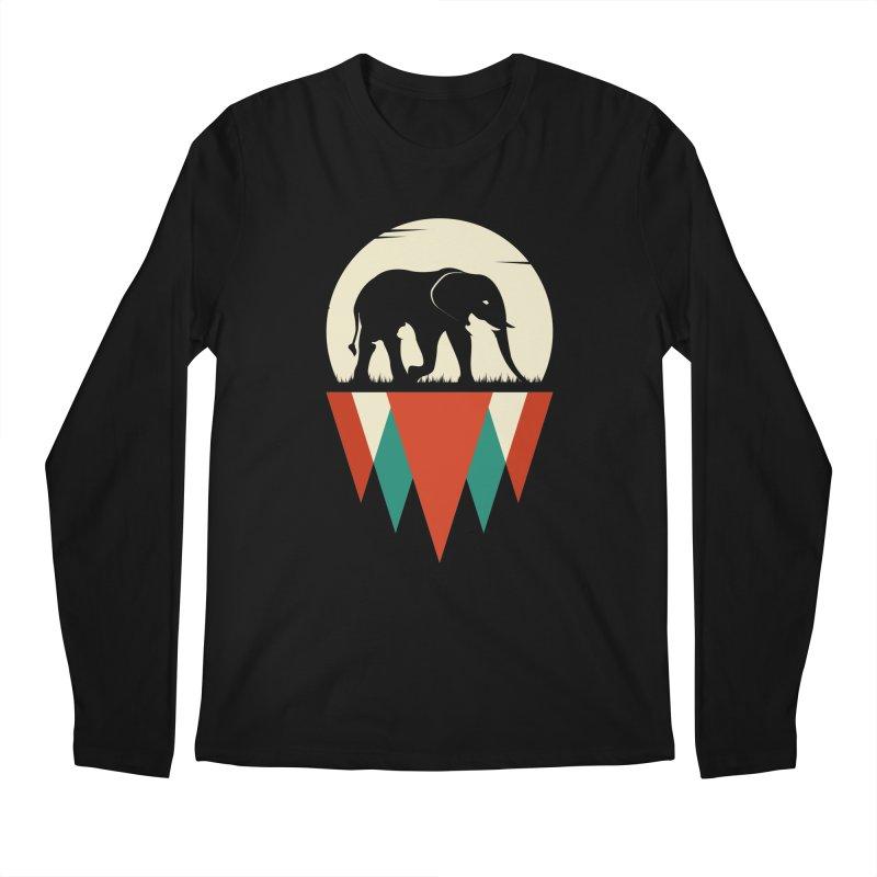 HIDDEN WILD SIDE Men's Longsleeve T-Shirt by EHELPENT
