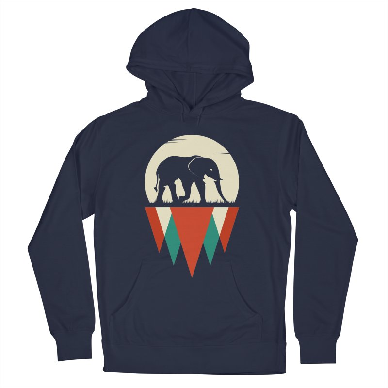 HIDDEN WILD SIDE Women's French Terry Pullover Hoody by EHELPENT