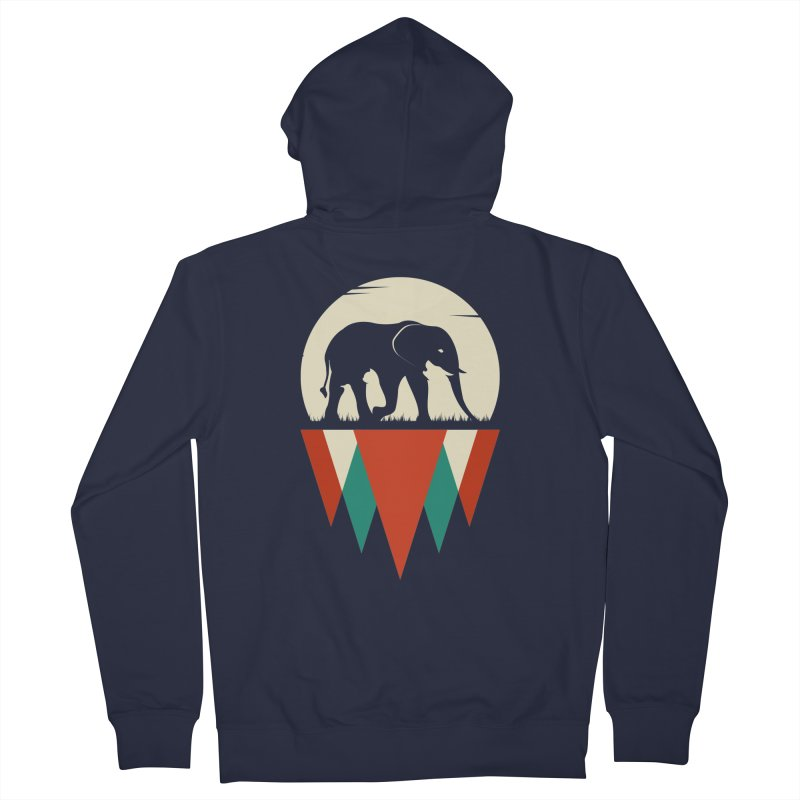 MOMENTUM - THE HIDDEN WILD SIDE Women's Zip-Up Hoody by EHELPENT