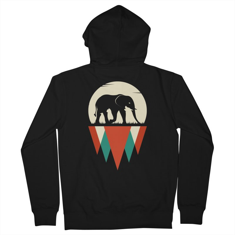 MOMENTUM - THE HIDDEN WILD SIDE Men's Zip-Up Hoody by EHELPENT