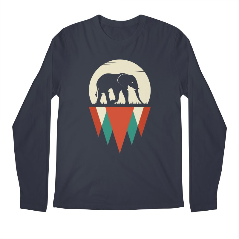 MOMENTUM - THE HIDDEN WILD SIDE Men's Regular Longsleeve T-Shirt by EHELPENT