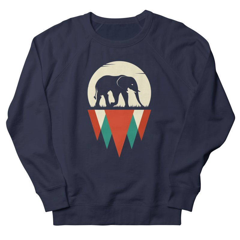 MOMENTUM - THE HIDDEN WILD SIDE Men's French Terry Sweatshirt by EHELPENT