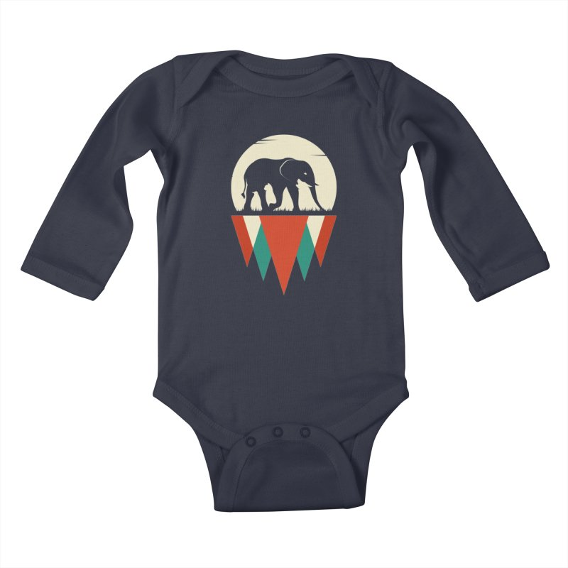 MOMENTUM - THE HIDDEN WILD SIDE Kids Baby Longsleeve Bodysuit by EHELPENT