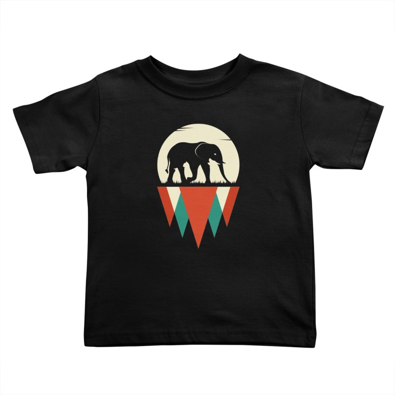 HIDDEN WILD SIDE Kids Toddler T-Shirt by EHELPENT