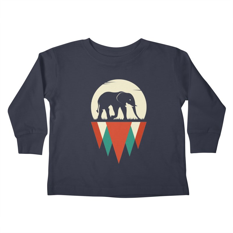 MOMENTUM - THE HIDDEN WILD SIDE Kids Toddler Longsleeve T-Shirt by EHELPENT