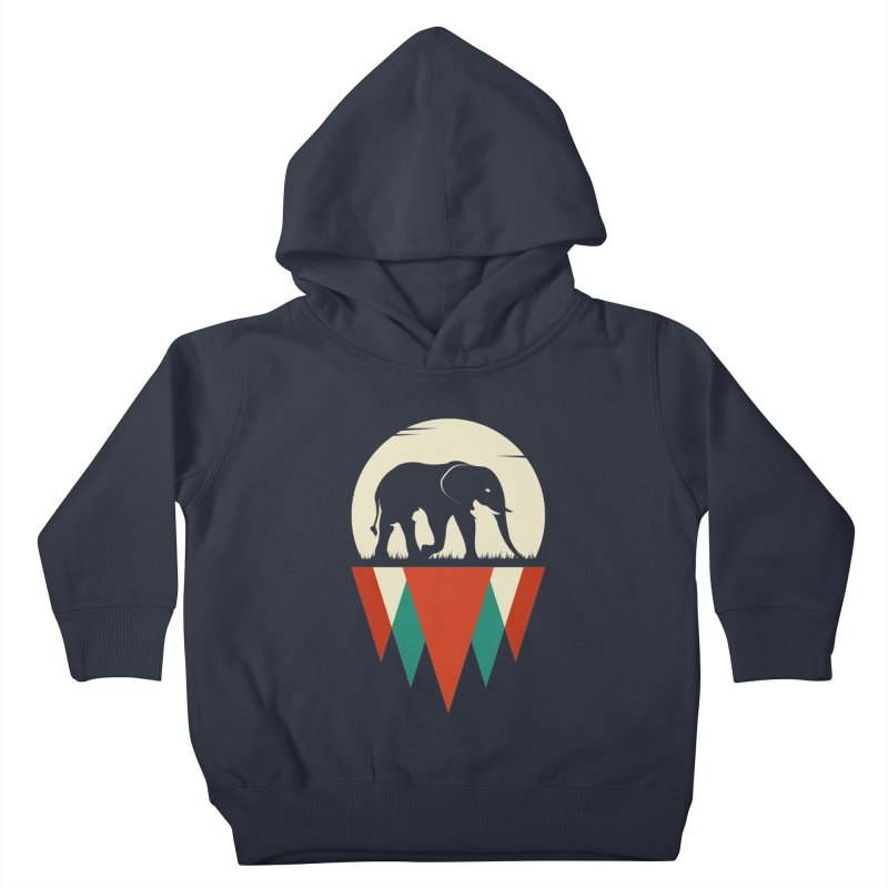 MOMENTUM - THE HIDDEN WILD SIDE Kids Toddler Pullover Hoody by EHELPENT