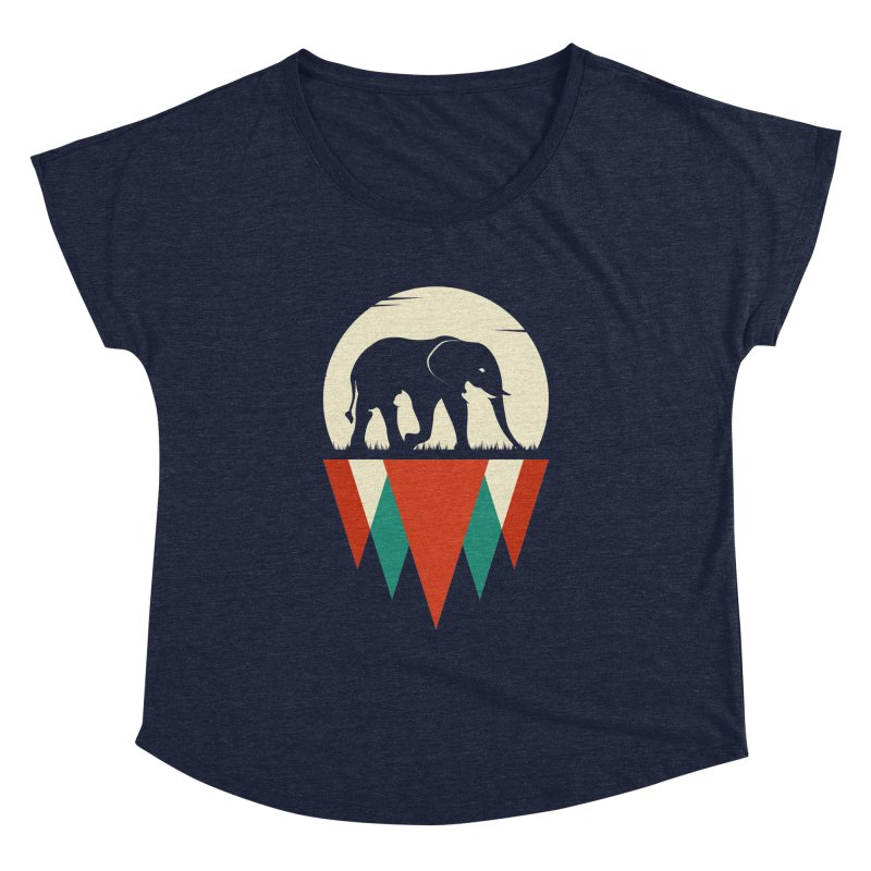MOMENTUM - THE HIDDEN WILD SIDE Women's Dolman by EHELPENT