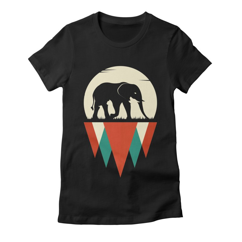 MOMENTUM - THE HIDDEN WILD SIDE Women's Fitted T-Shirt by EHELPENT