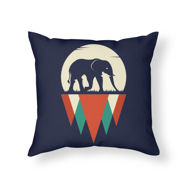 MOMENTUM - THE HIDDEN WILD SIDE Home Throw Pillow by EHELPENT