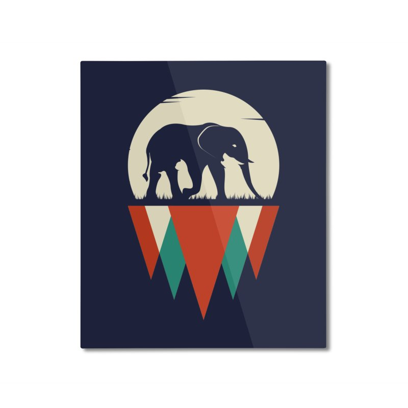 MOMENTUM - THE HIDDEN WILD SIDE Home Mounted Aluminum Print by EHELPENT