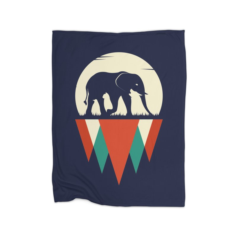 MOMENTUM - THE HIDDEN WILD SIDE Home Blanket by EHELPENT