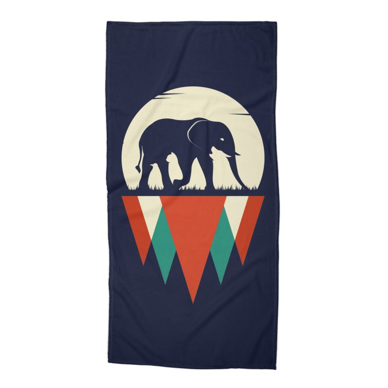 MOMENTUM - THE HIDDEN WILD SIDE Accessories Beach Towel by EHELPENT