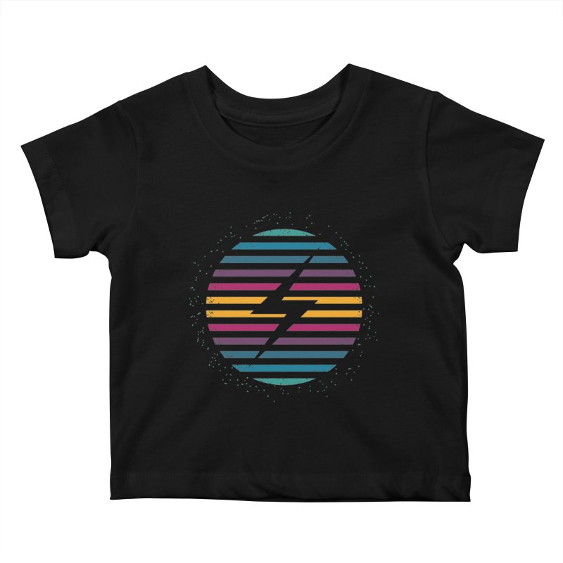 FLASH AND PANACHE Kids Baby T-Shirt by EHELPENT