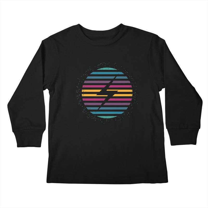 FLASH AND PANACHE Kids Longsleeve T-Shirt by EHELPENT