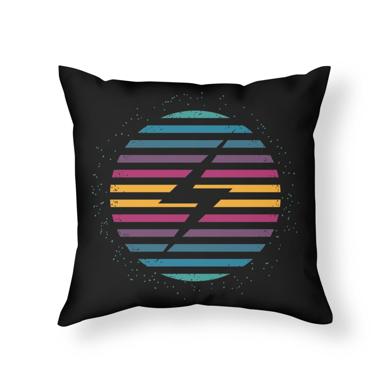 FLASH AND PANACHE Home Throw Pillow by EHELPENT