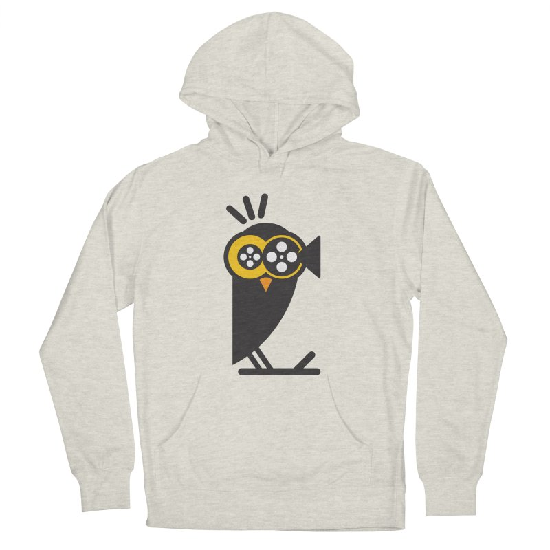 VIDEO OWL Women's French Terry Pullover Hoody by EHELPENT