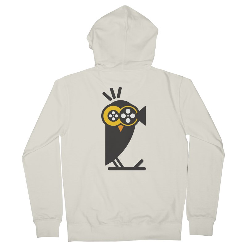 VIDEO OWL Men's Zip-Up Hoody by EHELPENT