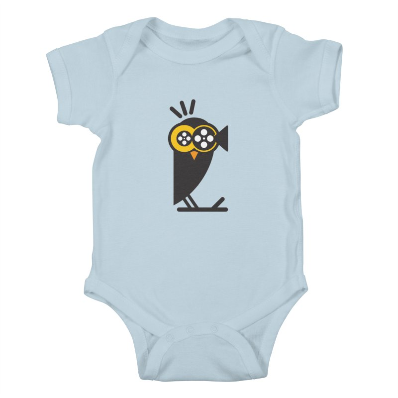 VIDEO OWL Kids Baby Bodysuit by EHELPENT