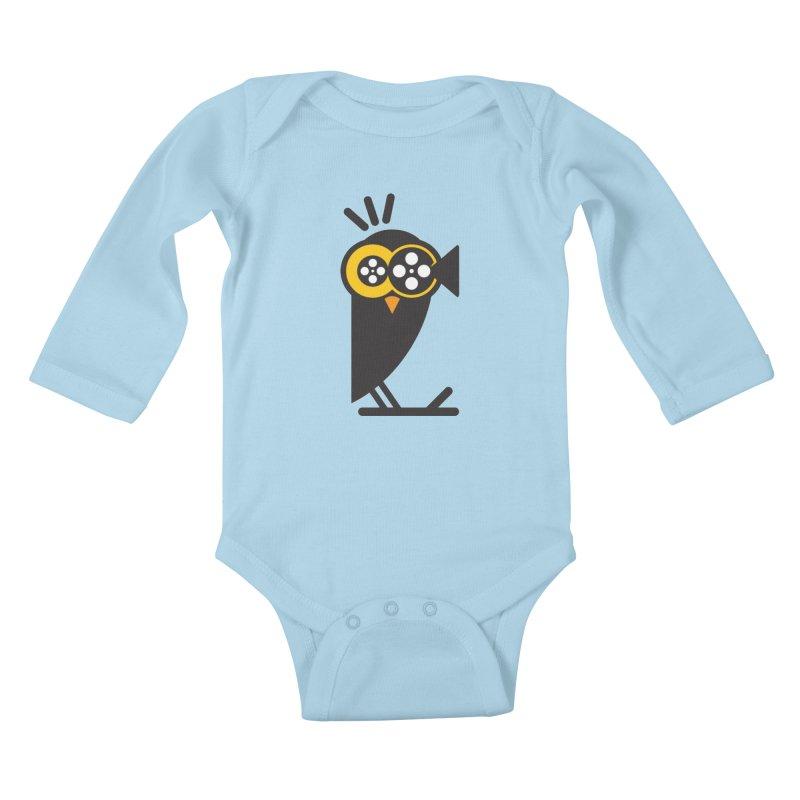 VIDEO OWL Kids Baby Longsleeve Bodysuit by EHELPENT