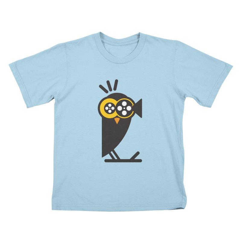 VIDEO OWL Kids T-Shirt by EHELPENT