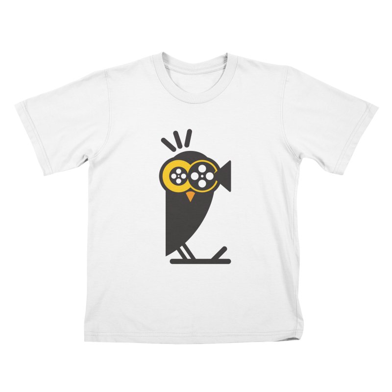 VIDEO OWL Kids T-Shirt by EHELPENT