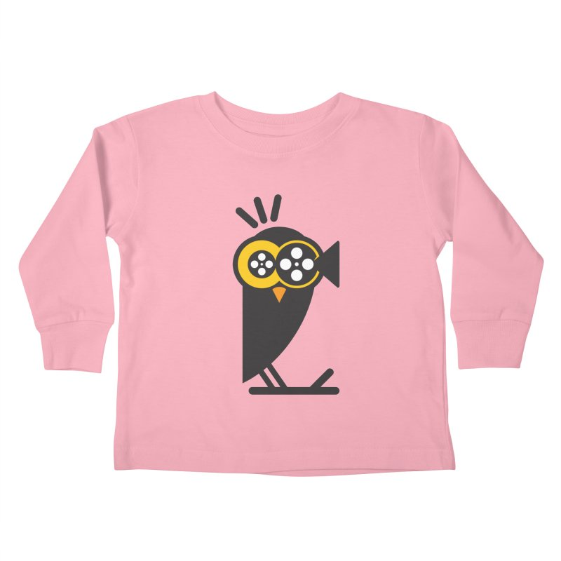 VIDEO OWL Kids Toddler Longsleeve T-Shirt by EHELPENT