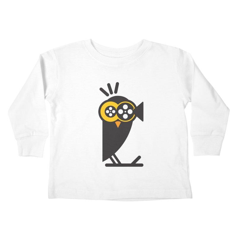 VIDEO OWL Kids Toddler Longsleeve T-Shirt by EHELPENT