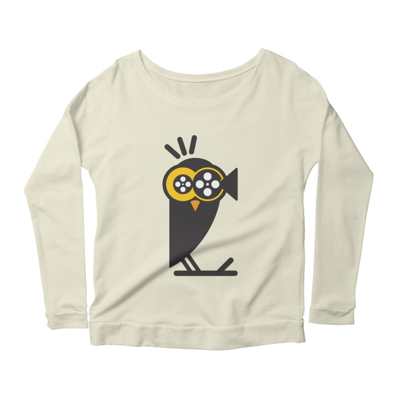 VIDEO OWL Women's Longsleeve Scoopneck  by EHELPENT
