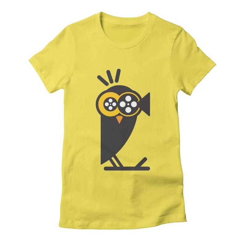 VIDEO OWL Women's Fitted T-Shirt by EHELPENT