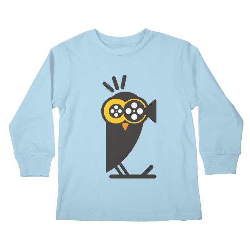 VIDEO OWL Kids Longsleeve T-Shirt by EHELPENT