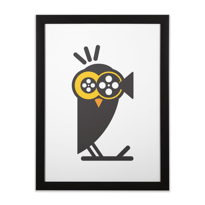 VIDEO OWL Home Framed Fine Art Print by EHELPENT