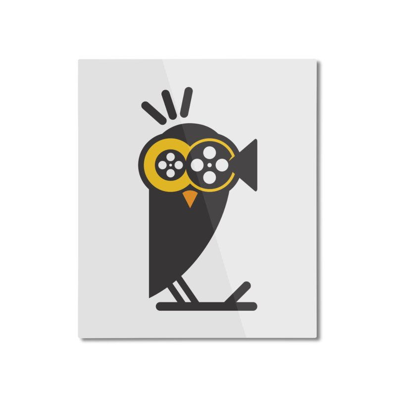 VIDEO OWL Home Mounted Aluminum Print by EHELPENT