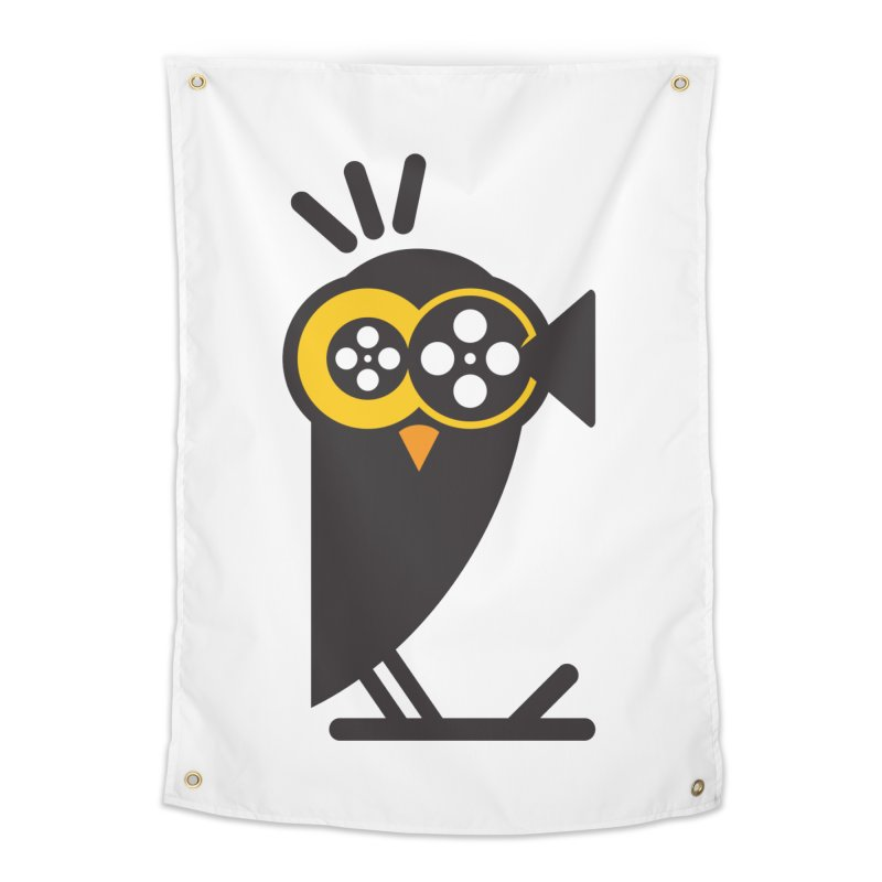 VIDEO OWL Home Tapestry by EHELPENT