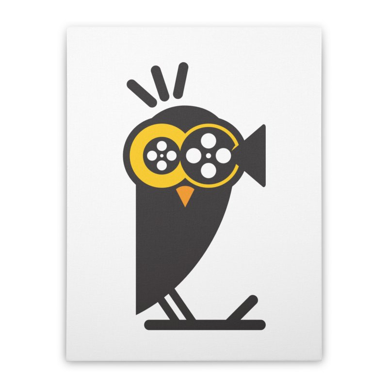 VIDEO OWL Home Stretched Canvas by EHELPENT
