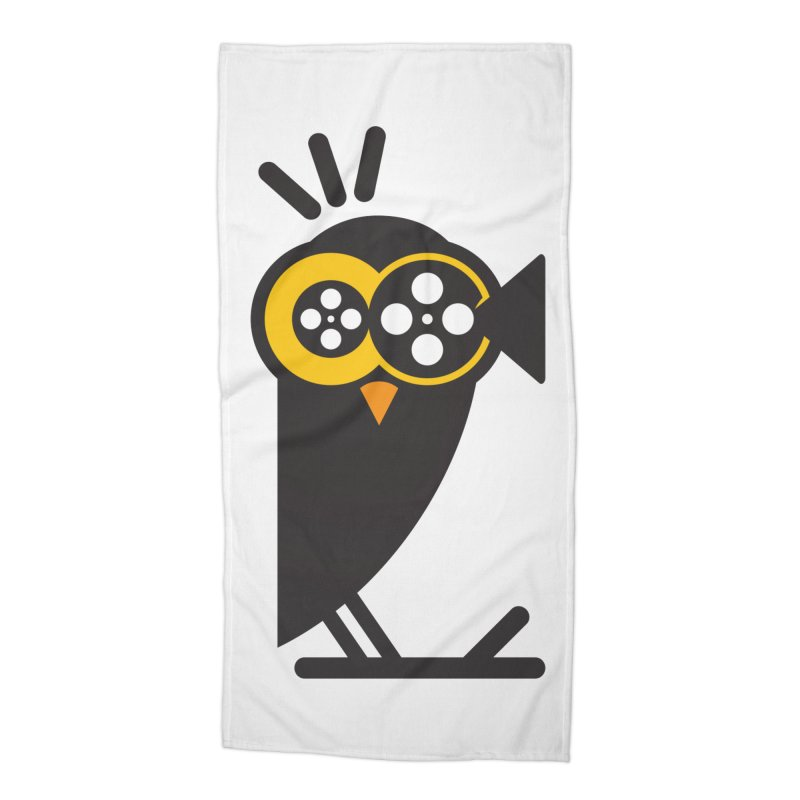VIDEO OWL Accessories Beach Towel by EHELPENT