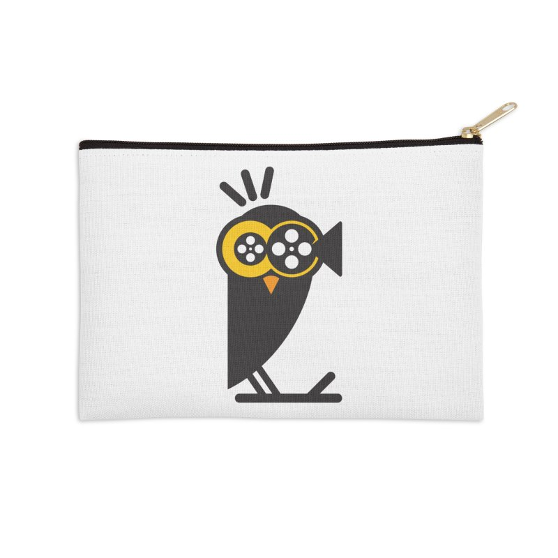 VIDEO OWL Accessories Zip Pouch by EHELPENT