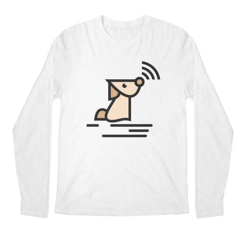 WIFI DOGI Men's Regular Longsleeve T-Shirt by EHELPENT