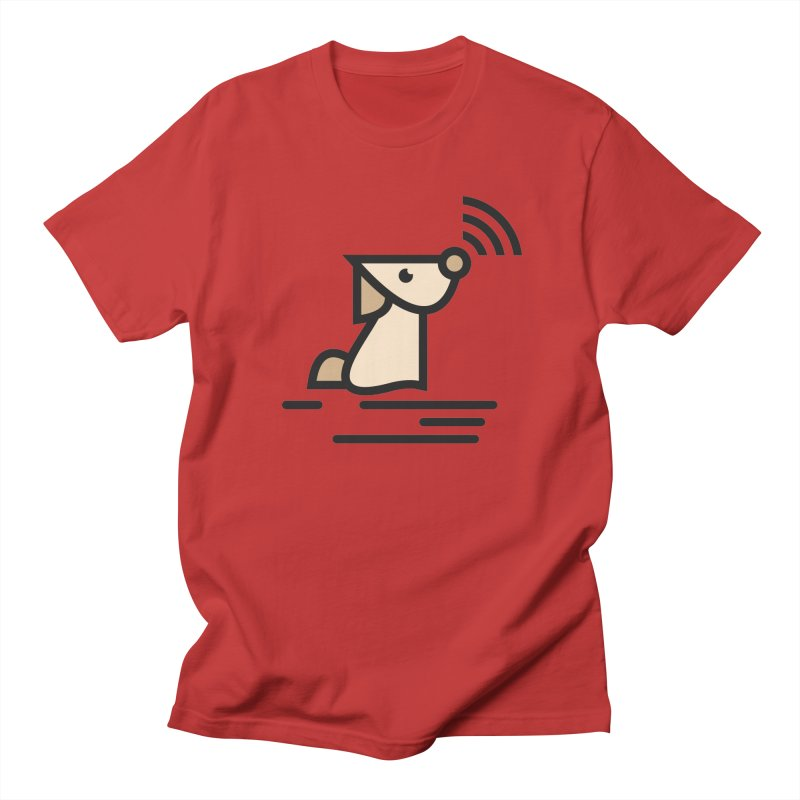 WIFI DOGI Men's T-Shirt by EHELPENT